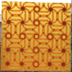 Orange twist octagons (darker version)