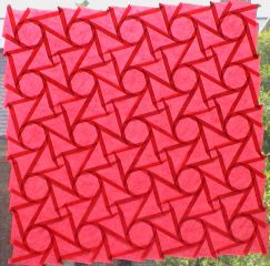 Red octagons (open back 2, iso-area)