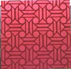 Red octagons (open back 2)